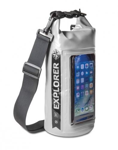 """Fotografie Celly Voděodolný vak Explorer 2L s kapsou na telefon do 6,2"""""""
