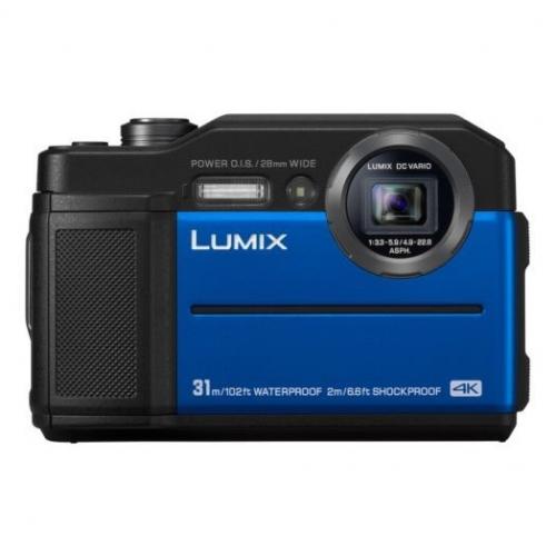 Digitální fotoaparát Panasonic Lumix DC-FT7 modrý