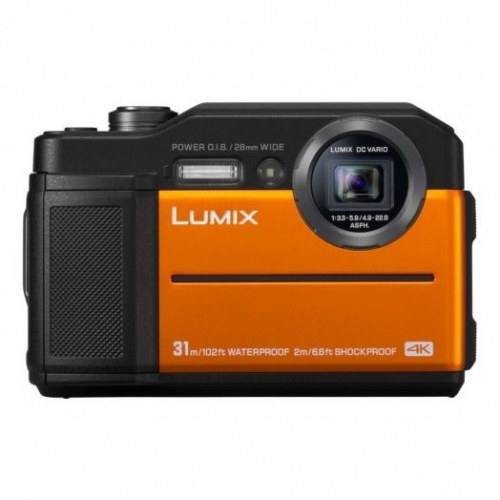 Digitální fotoaparát Panasonic Lumix DC-FT7 oranžový
