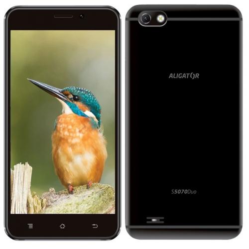 Mobilní telefon Aligator S5070 Dual SIM černý
