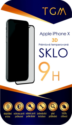 TGM 3D na Apple iPhone X/Xs/11 Pro