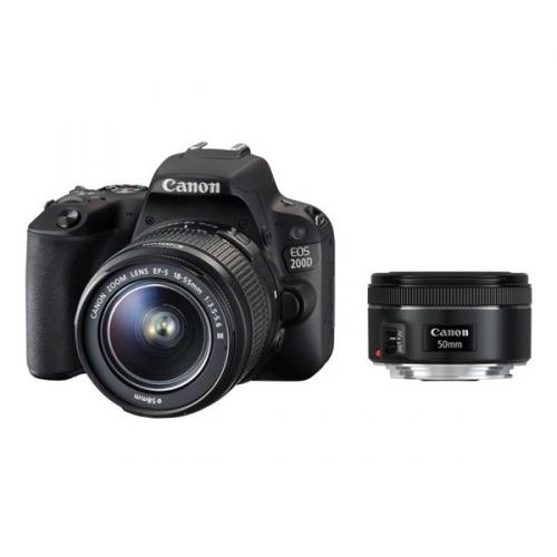 Canon 200D + 18-55mm IS STM + 50mm 1.8 STM
