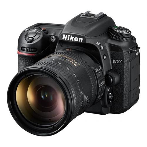 Digitální fotoaparát Nikon D7500 + 18-200 AF-S VRII černý + DOPRAVA ZDARMA