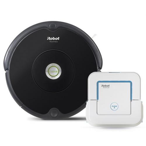 iRobot Roomba 606 + Braava jet 240