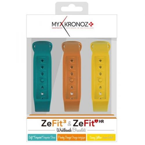 řemínek pro ZeFit3 a ZeFit3 HR, 3 ks