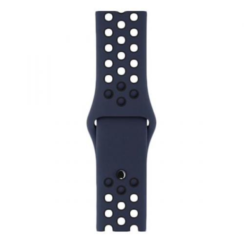 Watch 38mm obsidiánový/černý sportovní řemínek Nike S/M a M/L MQ2P2ZM/A