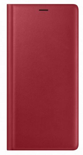 Samsung Leather View Cover pro Galaxy Note 9 (EF-WN960) červené