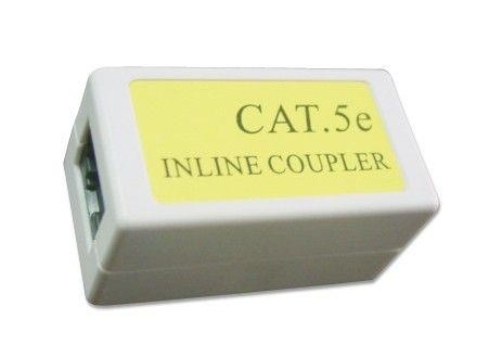 Fotografie Gembird RJ45/RJ45 in-line coupler cat.5E