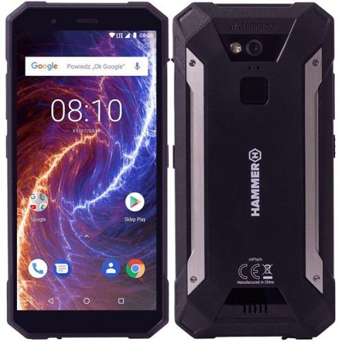 myPhone HAMMER ENERGY 18X9 LTE černý + dárek