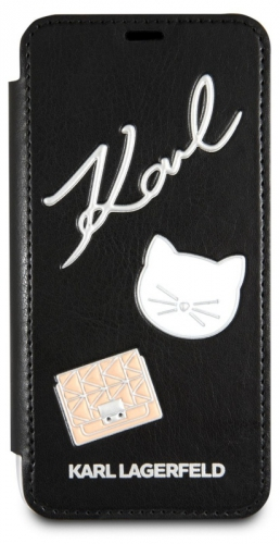 Karl Lagerfeld Pins Book pro iPhone 7/8