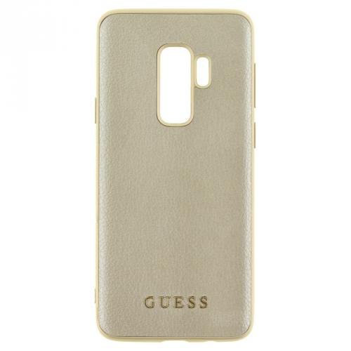 Guess Iridescent Hard Case pro Samsung Galaxy S9 Plus zlatý