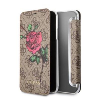 Guess 4G Flower Desire Book Pouzdro pro iPhone X
