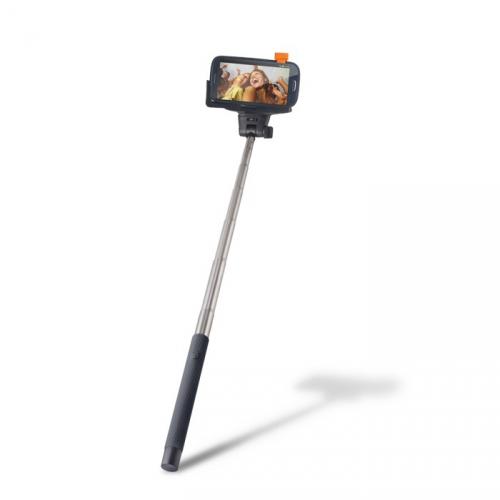 Selfie tyč CPA Halo SETTY s ovládacím tlačítkem (HOLSELFIESETTY02BK)