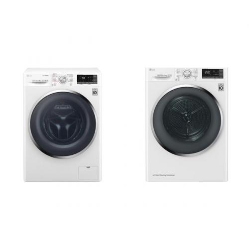 Set (Sušička prádla LG RC91U2AV2W) + (Automatická pračka LG F94J8VS2W)