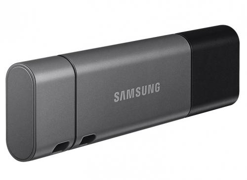 USB Flash Samsung Duo Plus 128GB USB-C černý (USB 3.1)