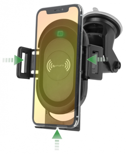 4smarts VoltBeam Sensor s bezdrátovým dobíjením černý