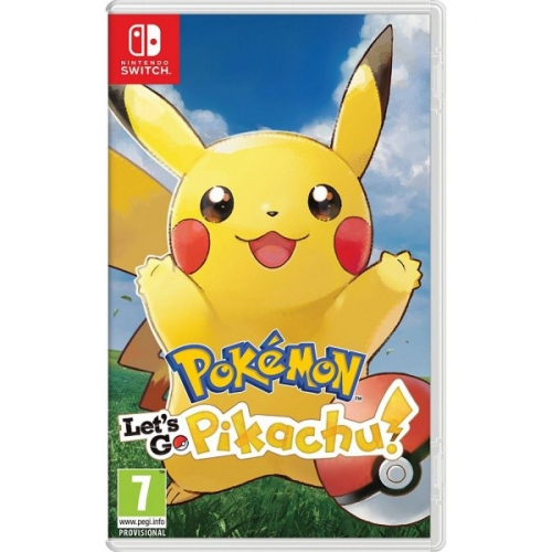 Nintendo Pokémon Let's Go Pikachu!