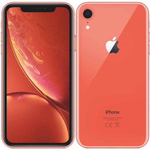 Mobilní telefon Apple iPhone XR 64 GB - coral + dárek