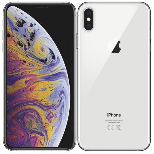 Mobilní telefon Apple iPhone Xs Max 64 GB - silver + dárek + DOPRAVA ZDARMA