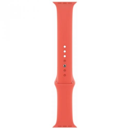 Řemínek Apple Watch 40mm nektarinkový sportovní - S/M a M/L