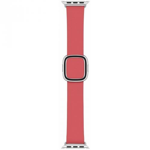 Řemínek Apple Watch 40mm pivoňkově růžový s moderní přezkou - velký + DOPRAVA ZDARMA