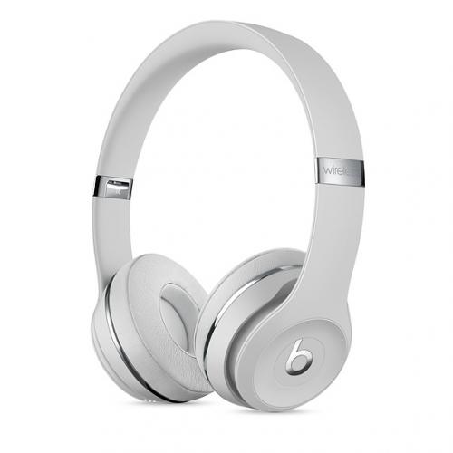 Sluchátka Beats Solo3 Wireless On-Ear - saténově stříbrná