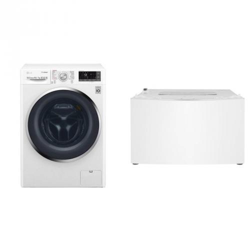 Set (Automatická pračka se sušičkou LG F104J8JH2WD) + (Automatická pračka LG TWINWash™ F28K5XN3)
