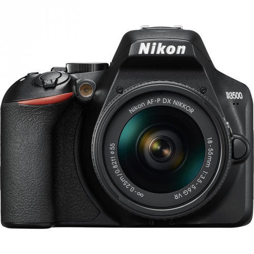 Digitální fotoaparát Nikon D3500 + 18-55 AF-P VR černý