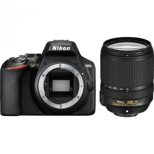 Digitální fotoaparát Nikon D3500 + 18-140 AF-S VR černý + dárek