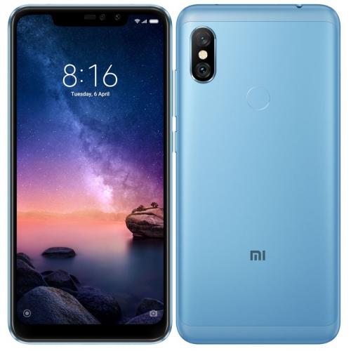 Mobilní telefon Xiaomi Redmi Note 6 Pro 4GB/64GB modrý + dárek