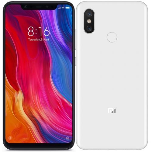Mobilní telefon Xiaomi Mi 8 Dual SIM 64 GB (20651) bílý
