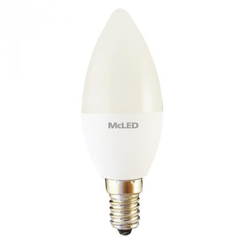 McLED svíce, 3,5 W, E14, neutrální bílá