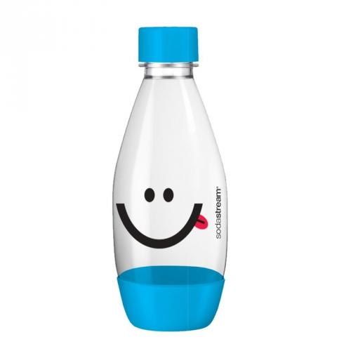 Láhev SodaStream Smajlík 0,5l modré