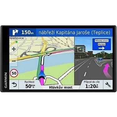 Navigační systém GPS Garmin DriveSmart 61S Lifetime Europe45 černá + DOPRAVA ZDARMA