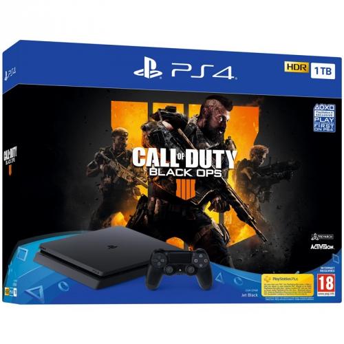 Sony Slim 1TB + Call of Duty: Black Ops 4 + dárek