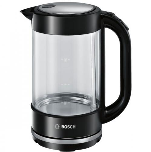 Rychlovarná konvice Bosch TWK70B03 černá/sklo