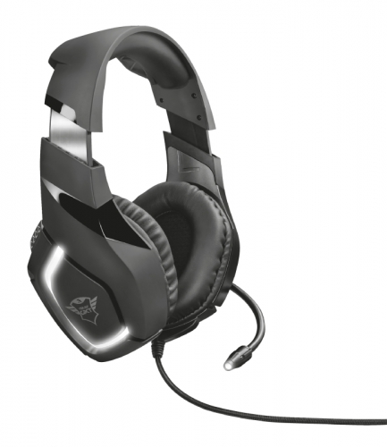 Headset Trust GXT 380 Doxx Illuminated Gaming černý
