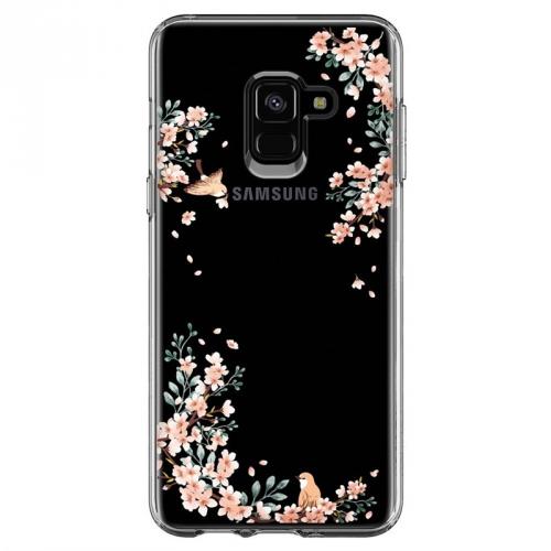 Spigen Liquid Crystal Blossom pro Samsung Galaxy A8 (2018) - příroda