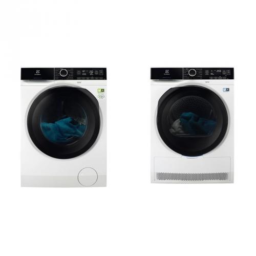 Set (Sušička prádla Electrolux PerfectCare 800 EW8H258BC) + (Automatická pračka Electrolux PerfectCare 800 EW8F148BC)