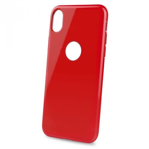 Celly Gelskin pro Apple iPhone XR červený