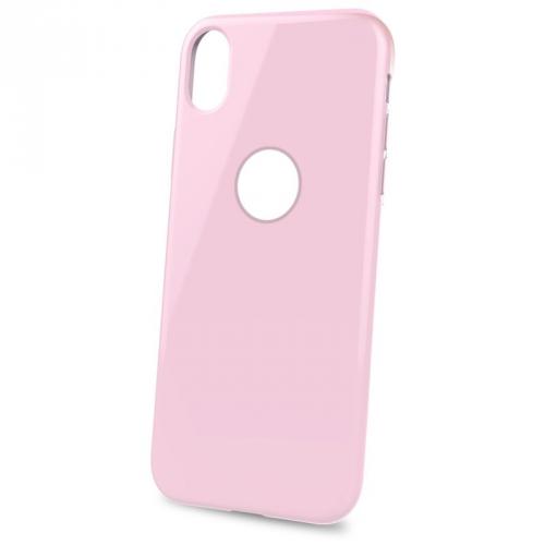 Celly Gelskin pro Apple iPhone XR růžový