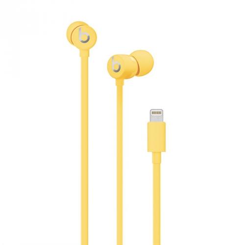 Sluchátka Beats urBeats3 s Lightning konektorem žlutá
