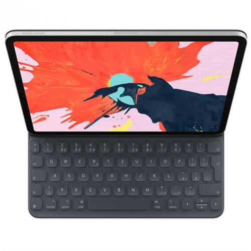 Pouzdro na tablet s klávesnicí Apple Smart Keyboard Folio 11 iPad Pro 2018 šedé