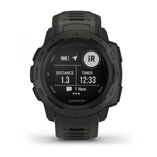 GPS hodinky Garmin Instinct Black Optic