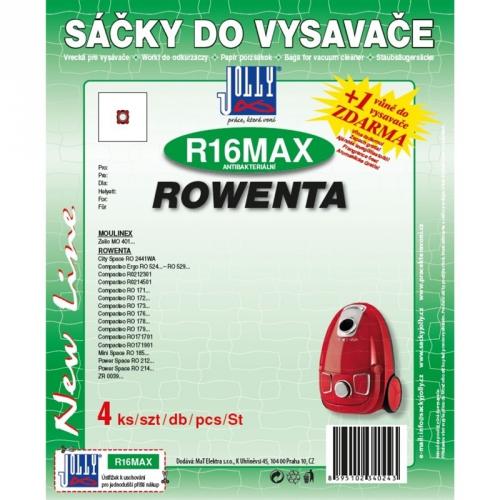 Jolly R 16 MAX sáčky Rowenta (4 ks)