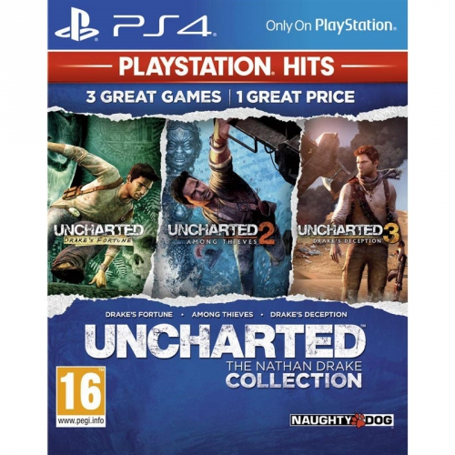 Sony Uncharted The Nathan Drake Collection PS HITS