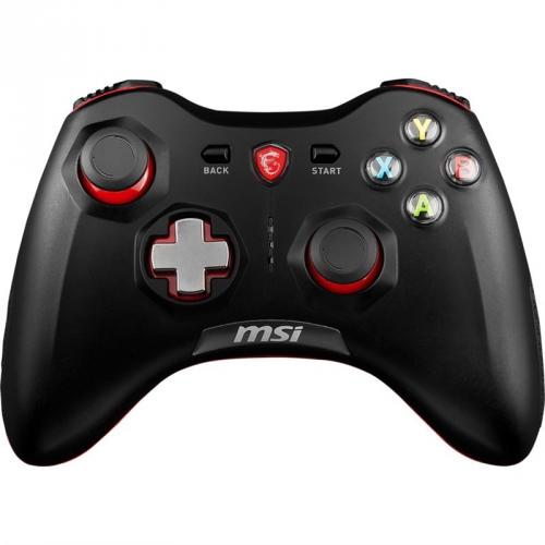 Gamepad MSI Force GC30, bezdrátový, pro PC, PS3, Android černý
