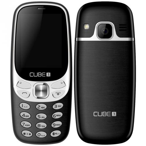 CUBE 1 F500 černý