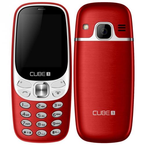 CUBE 1 F500 červený
