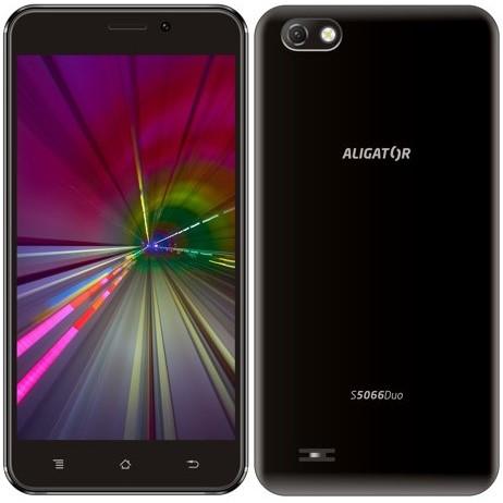 Mobilní telefon Aligator S5066 černý